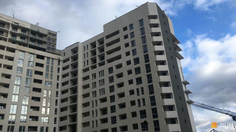 Хід будівництва ЖК Paradise Avenue, 6 будинок (секції 4-5), грудень 2020