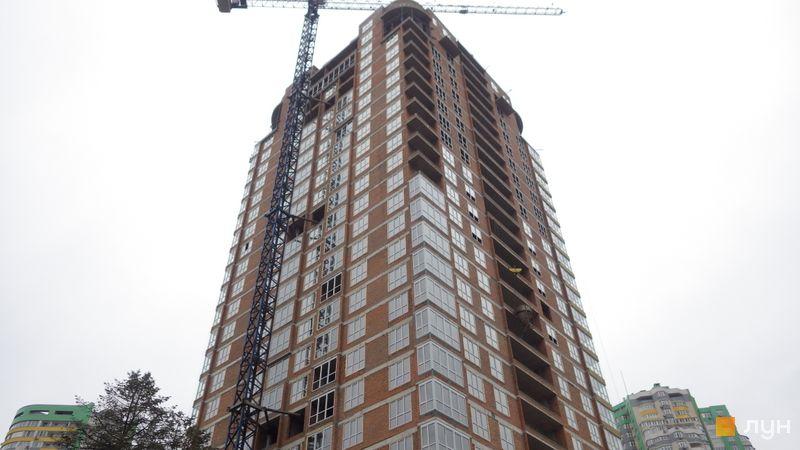 Хід будівництва ЖК Паркове місто, 7 черга (будинок 25), грудень 2020