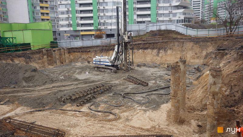 Хід будівництва ЖК Паркове місто, 7 черга (будинок 26), грудень 2020