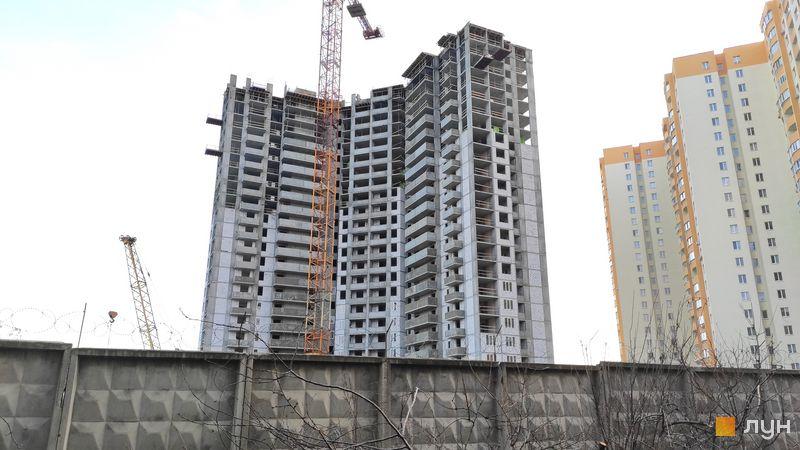 Хід будівництва ЖК Олімпійський, 12-13 будинки, грудень 2020
