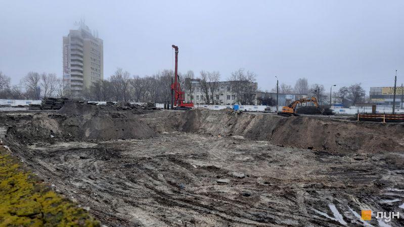 Ход строительства BOSTON Creative House, , декабрь 2020