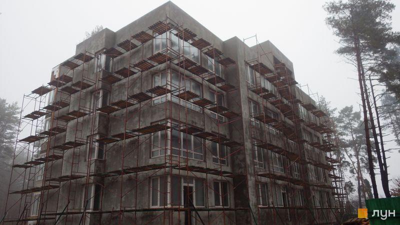 Ход строительства ЖК Идея, 5 дом, декабрь 2020