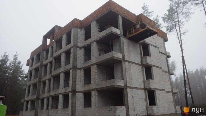 Ход строительства ЖК Идея, 6 дом, декабрь 2020