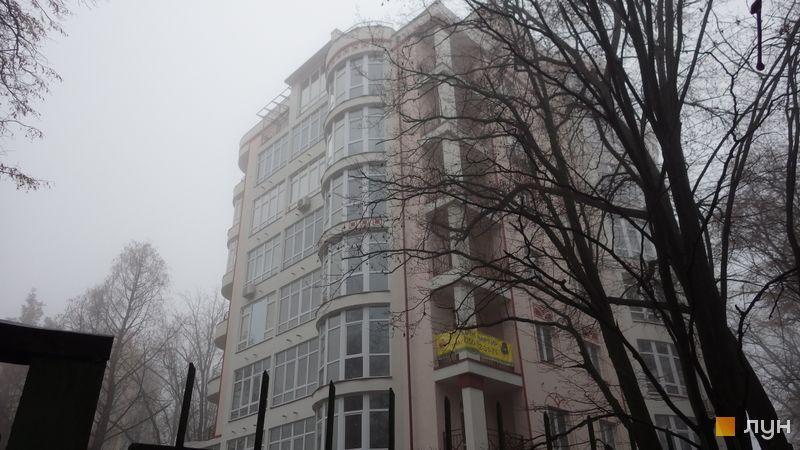 """Хід будівництва Клубний будинок """"Едельвейс Феофанії"""", Будинок, грудень 2020"""