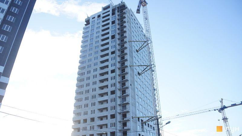 Хід будівництва ЖК Скай Сіті, 2 будинок, січень 2021