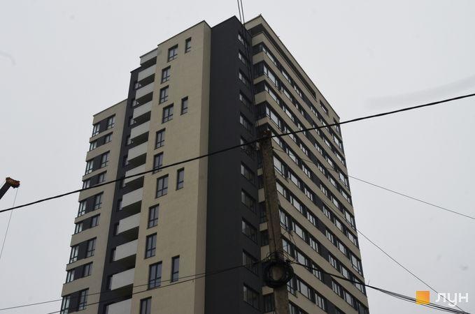 Ход строительства ЖК Strim Towers, 1 дом, январь 2021