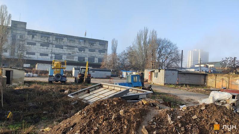 Хід будівництва ЖК Одеський двір, 3 будинок, січень 2021