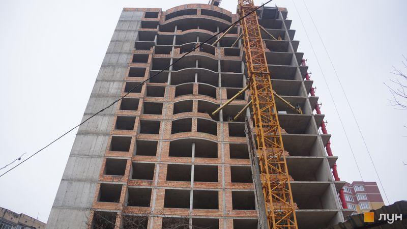 Хід будівництва ЖК SunCity, 3 будинок, січень 2021