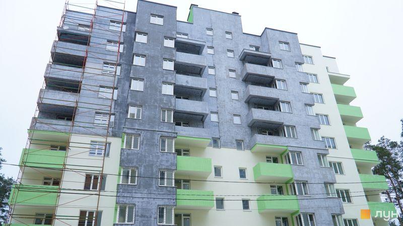 Ход строительства ЖК Жасмин, 3 дом, январь 2021