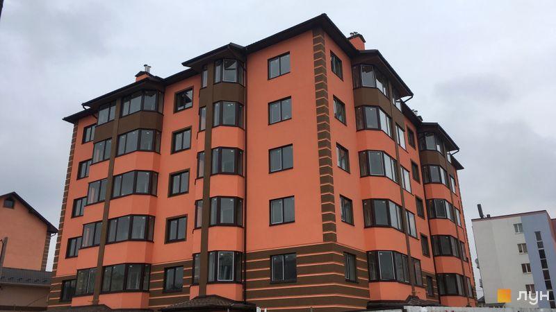 Хід будівництва Волошковий, 12 будинок, січень 2021