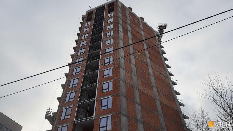 Ход строительства ЖК Львовская площадь, 1-2 секции, январь 2021