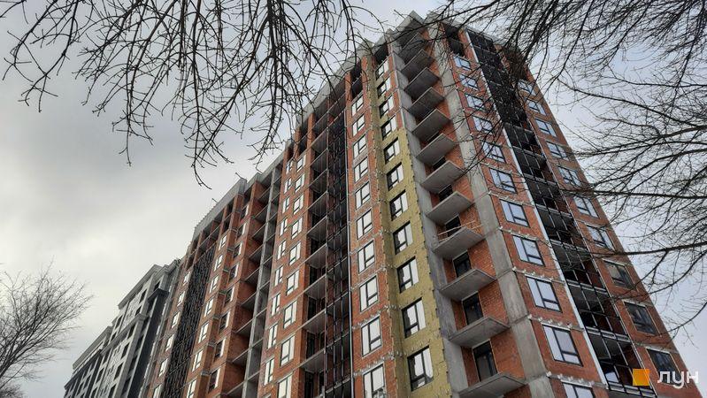 Ход строительства ЖК Львовская площадь, 1-3 секции, январь 2021