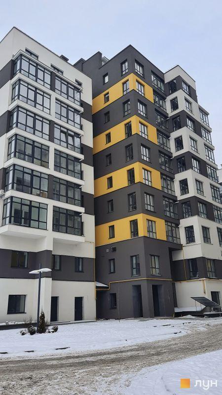 Ход строительства ЖК Солнечный, 2 дом, январь 2021