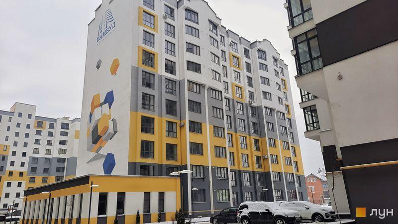 Ход строительства ЖК Солнечный, 1 дом, январь 2021