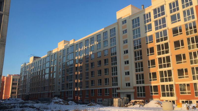 Ход строительства ЖК Петровский квартал, ПК-5. 2 очередь (бул. Леси Украинки, 22-22б), январь 2021