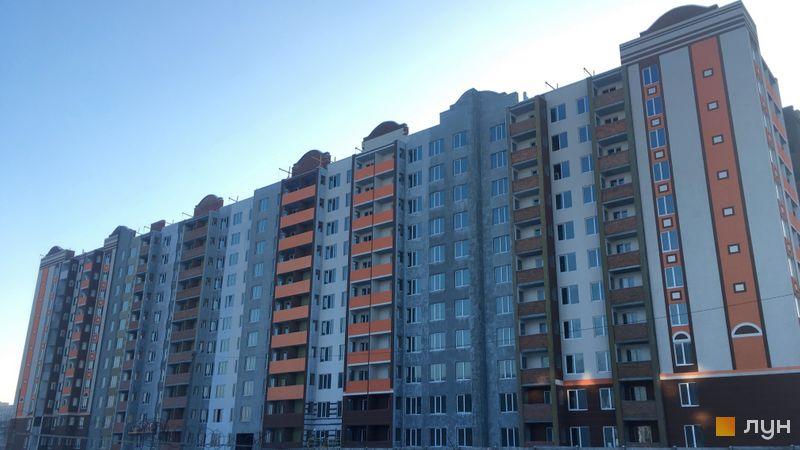 Ход строительства ЖК Петровский квартал, 12 очередь (ул. Соборная, 105б-105в), январь 2021
