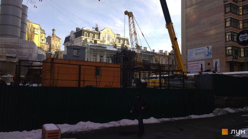 Хід будівництва ЖК Krauss Gallery, , січень 2021