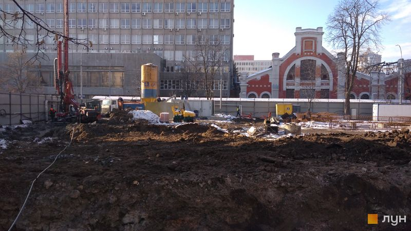 Хід будівництва ЖК АРСЕНАЛ House, , січень 2021