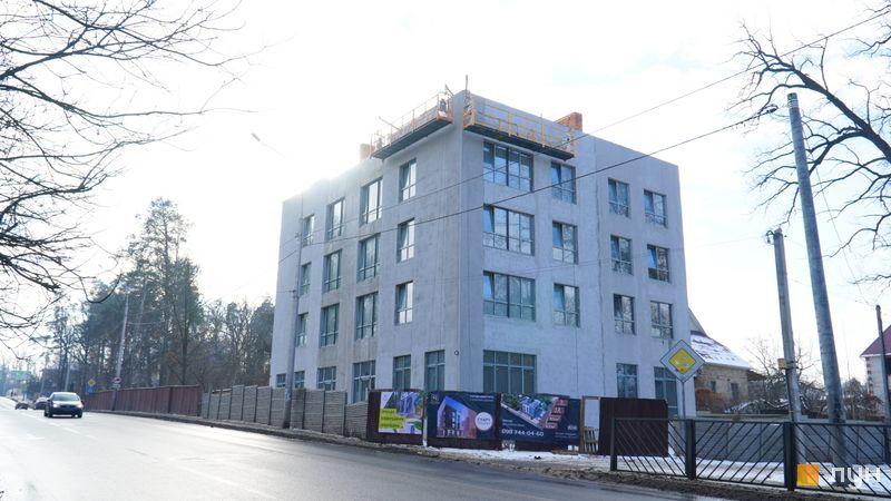 Хід будівництва Клубний будинок Range, Будинок, січень 2021