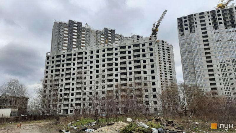 Хід будівництва ЖК Ревуцький, 1, 3 будинки, січень 2021