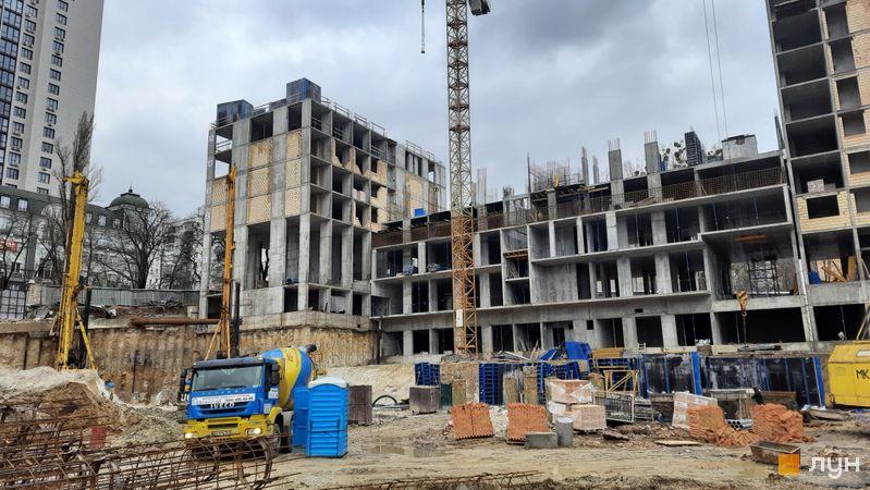 Ход строительства ЖК Stanford, 104, 105 секции, январь 2021