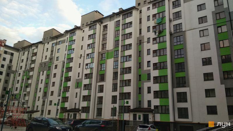 Ход строительства ЖК Арсенеевский двор, 1 дом (секции 1-2), январь 2021