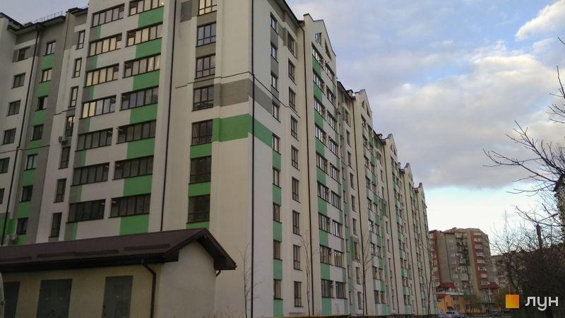 Ход строительства ЖК Арсенеевский двор, 1 дом (секции 1-3), январь 2021