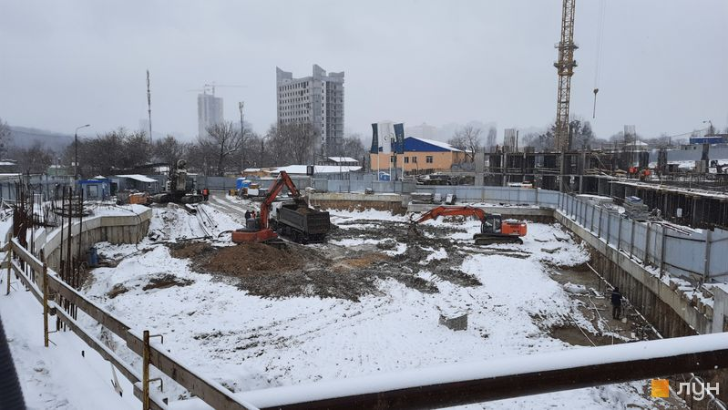 Ход строительства ЖК Delrey, , январь 2021