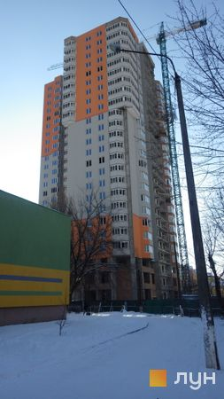 Хід будівництва вул. Каунаська, 2а, Будинок, січень 2021