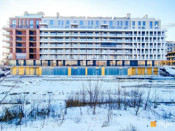 Хід будівництва Житловий район Rybalsky, 9 будинок, січень 2021