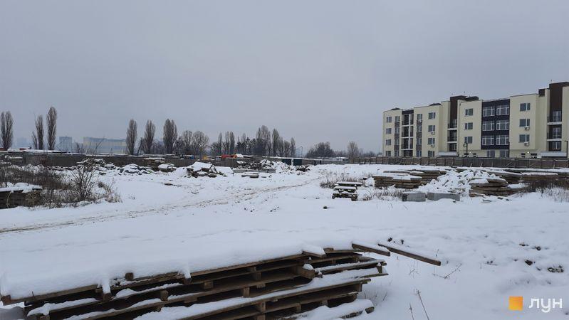 Ход строительства ЖК PARKLAND, , январь 2021