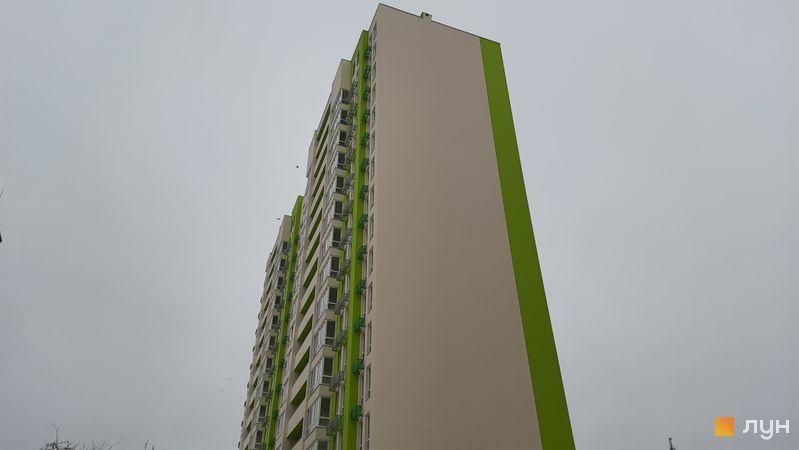 Хід будівництва ЖК Нивки-Парк, 8 будинок, січень 2021