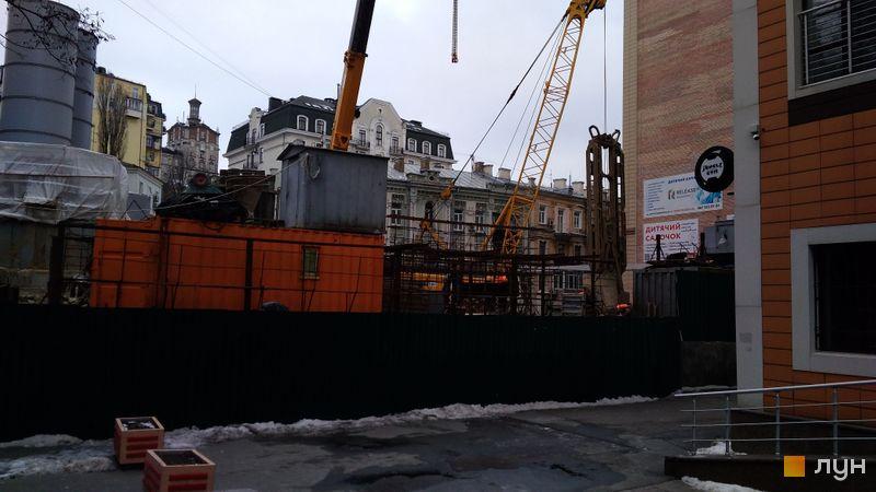 Хід будівництва ЖК Krauss Gallery, , лютий 2021