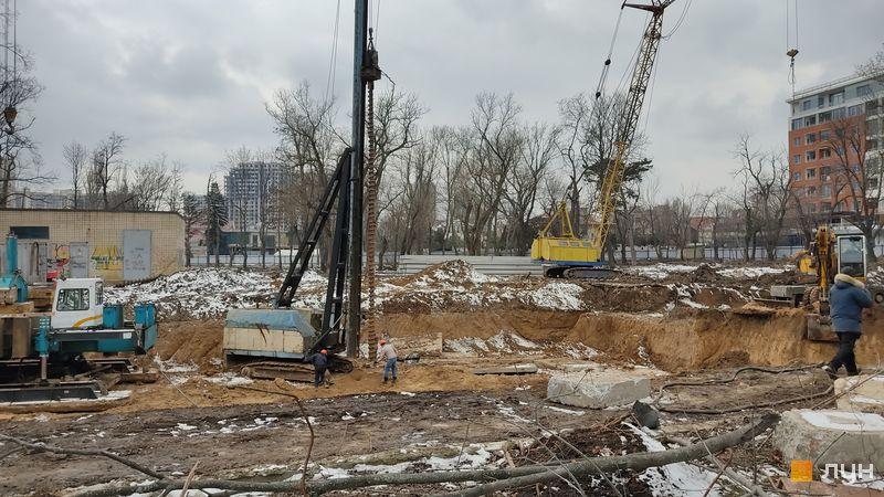 Хід будівництва Doma Trabotti, , лютий 2021