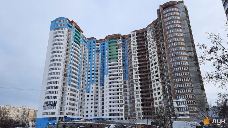 Ход строительства ЖК Приозерный, Дом, февраль 2021