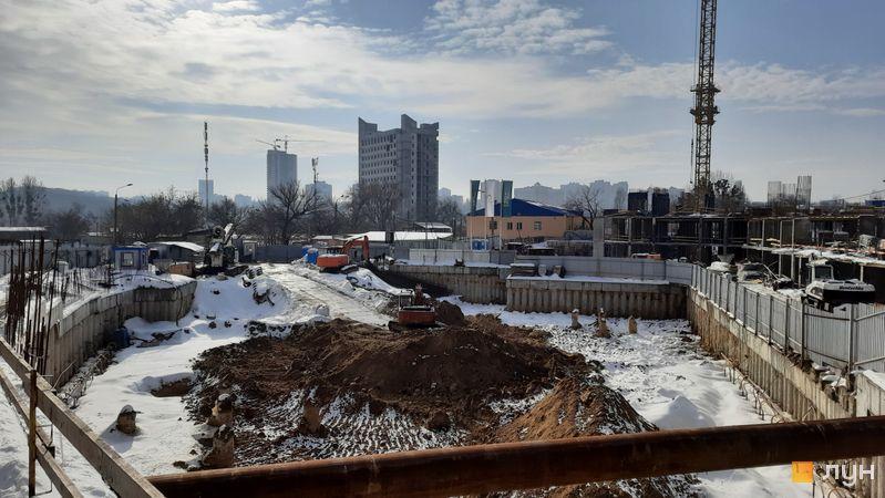 Ход строительства ЖК Delrey, , февраль 2021