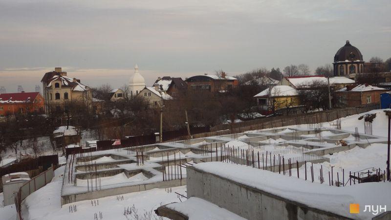 Хід будівництва вул. Пирятинська, 6Б, Будинок, лютий 2021