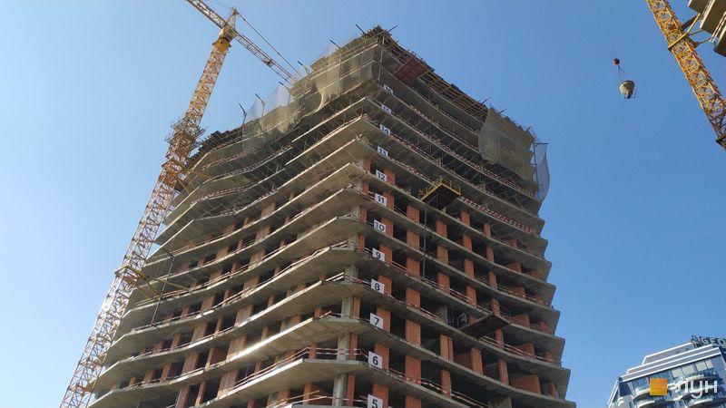 Хід будівництва ЖК Diadans, 1 будинок, лютий 2021