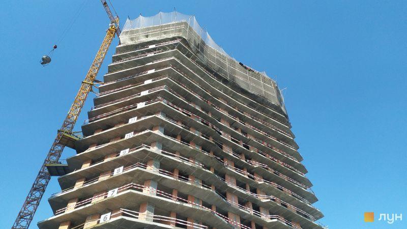 Хід будівництва ЖК Diadans, 2 будинок, лютий 2021