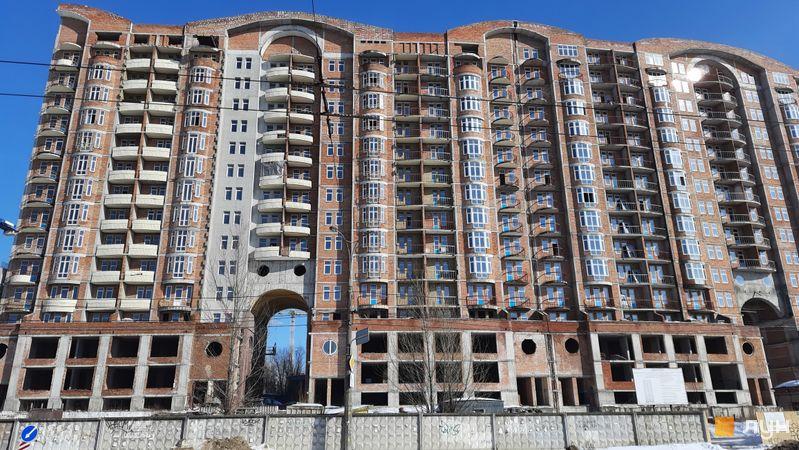 Хід будівництва ЖК Еврика, Будинок 3, лютий 2021