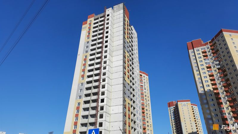 Хід будівництва ЖК Еврика, 6 будинок, лютий 2021