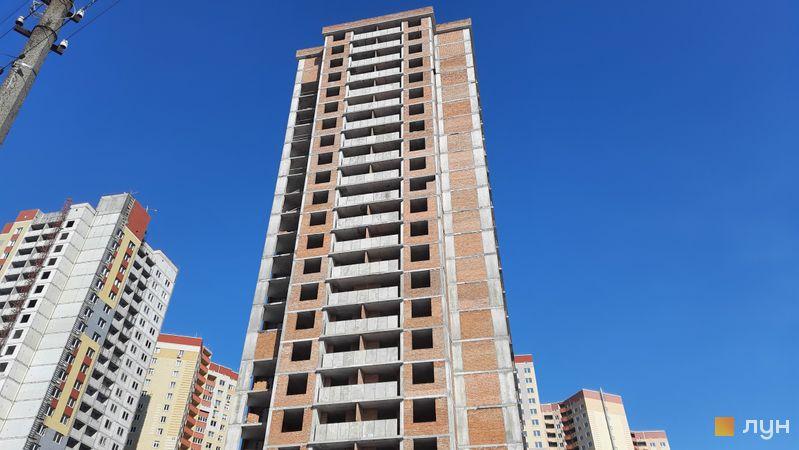 Хід будівництва ЖК Еврика, 5 будинок, лютий 2021