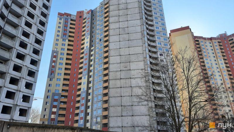 Хід будівництва ЖК Еврика, Будинок 16, лютий 2021
