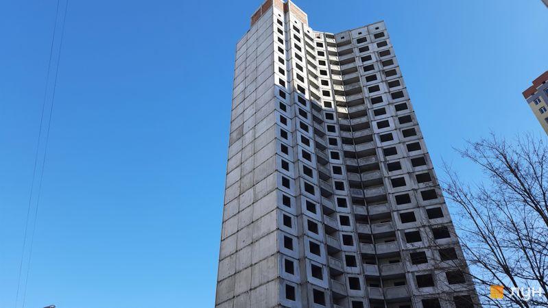 Хід будівництва ЖК Еврика, 17 будинок, лютий 2021