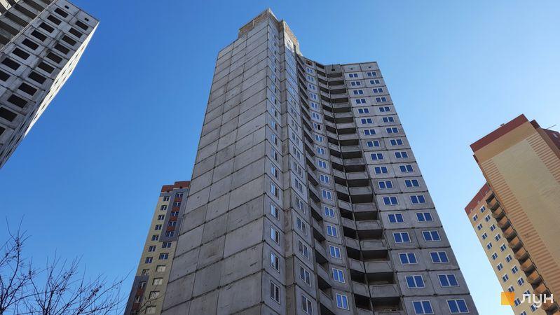 Хід будівництва ЖК Еврика, 16 будинок, лютий 2021
