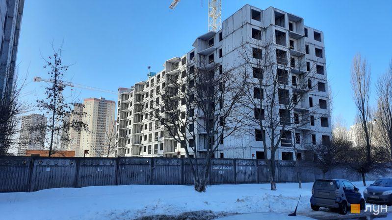 Хід будівництва ЖК Еврика, 20 будинок, лютий 2021