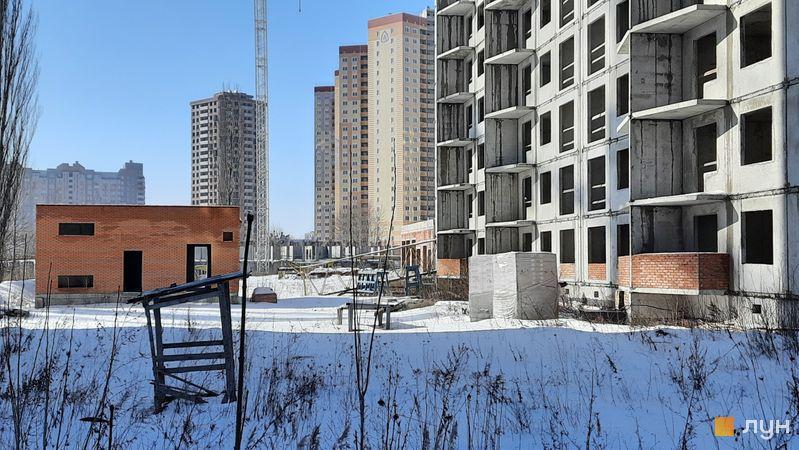 Хід будівництва ЖК Еврика, 9 будинок, лютий 2021