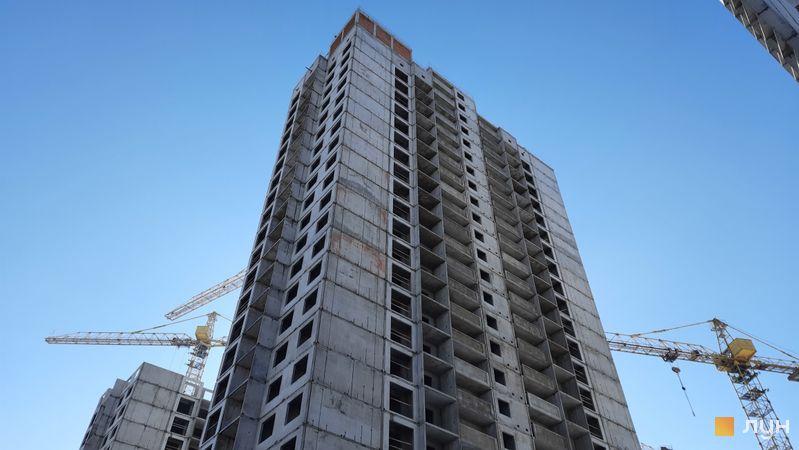 Хід будівництва ЖК Еврика, 23 будинок, лютий 2021