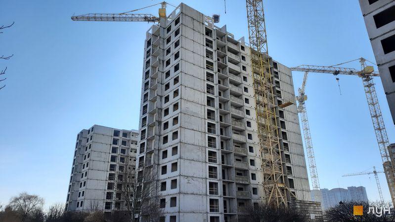 Хід будівництва ЖК Еврика, 24 будинок, лютий 2021