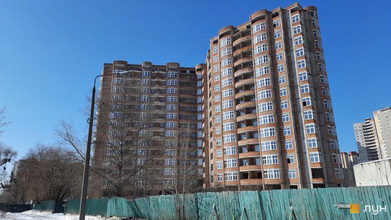 Хід будівництва ЖК Еврика, 4 будинок, лютий 2021